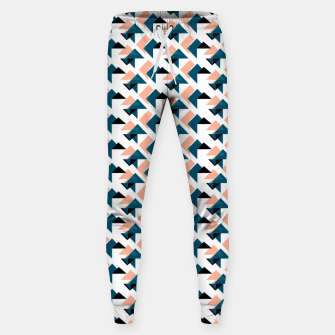 Pink And Blue Triangles Sweatpants thumbnail image