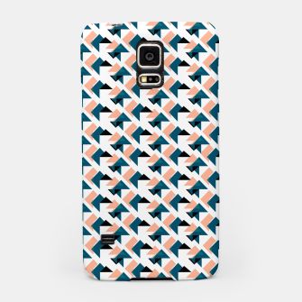 Pink And Blue Triangles Samsung Case thumbnail image