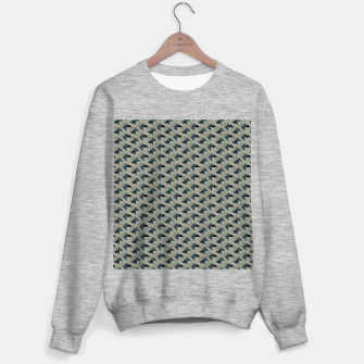 Thumbnail image of Gray And Back Triangles Sweater regular, Live Heroes