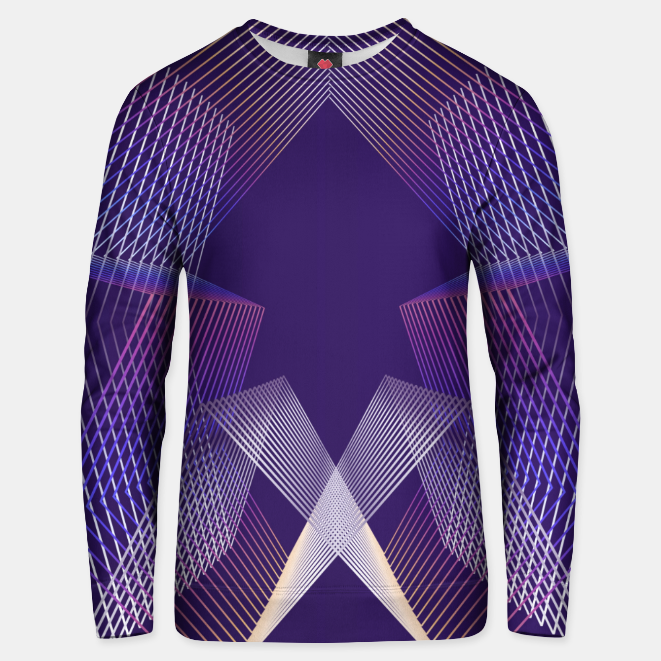 Image of Geometric pattern Unisex sweater - Live Heroes