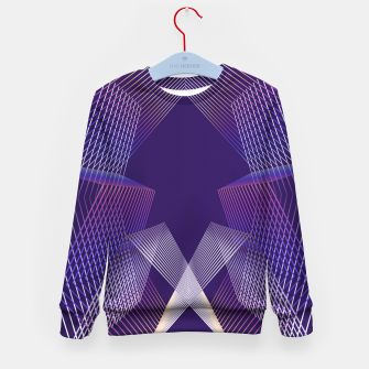 Thumbnail image of Geometric pattern Kid's sweater, Live Heroes