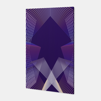 Thumbnail image of Geometric pattern Canvas, Live Heroes
