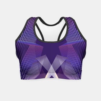 Geometric pattern Crop Top thumbnail image