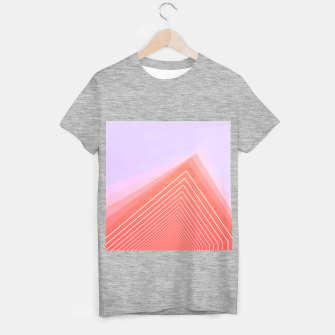 Thumbnail image of Linear geometric minimal T-shirt regular, Live Heroes
