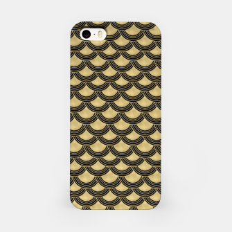 Miniaturka Mermaid Scales Gold Glam #1 #shiny #decor #art iPhone-Hülle, Live Heroes
