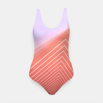 Thumbnail image of Linear geometric minimal Swimsuit, Live Heroes