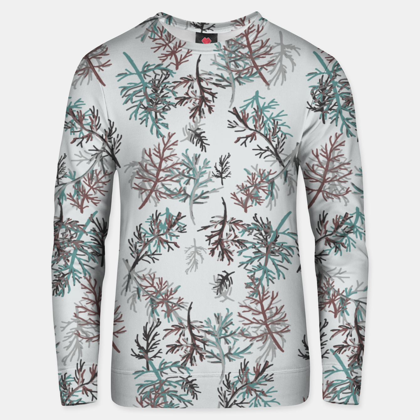 Image of Thuja Leaves Unisex sweater - Live Heroes