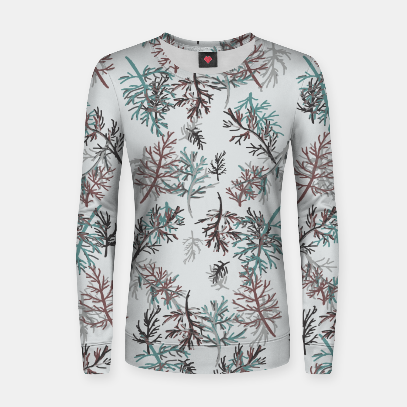 Image of Thuja Leaves Women sweater - Live Heroes