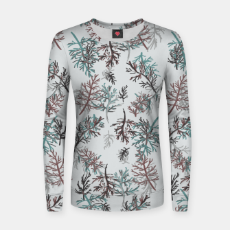 Thumbnail image of Thuja Leaves Women sweater, Live Heroes