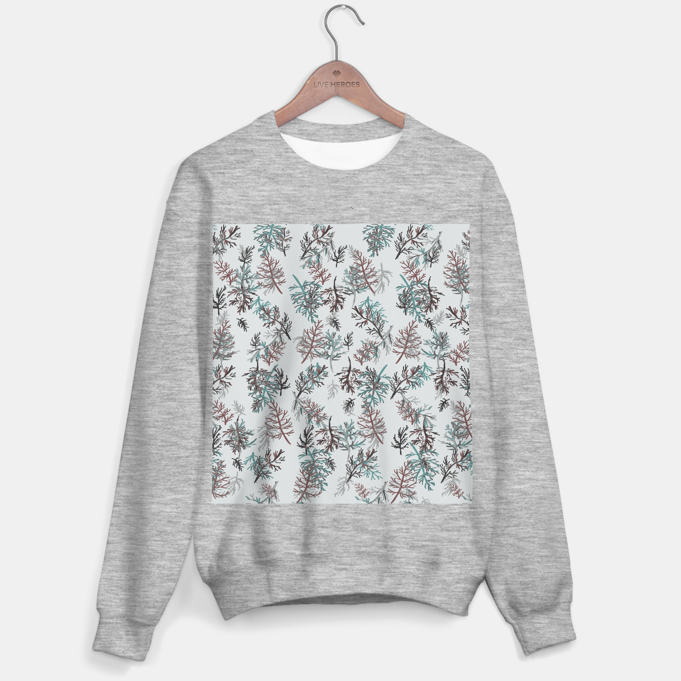 Image of Thuja Leaves Sweater regular - Live Heroes