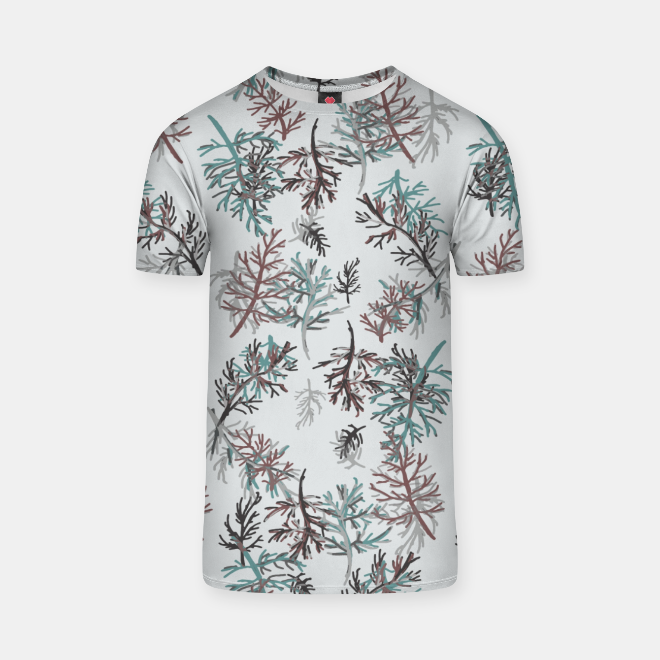 Image of Thuja Leaves T-shirt - Live Heroes
