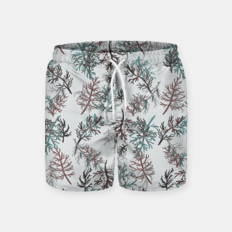 Thumbnail image of Thuja Leaves Swim Shorts, Live Heroes
