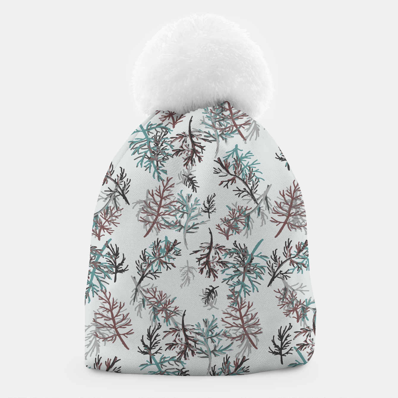 Image of Thuja Leaves Beanie - Live Heroes