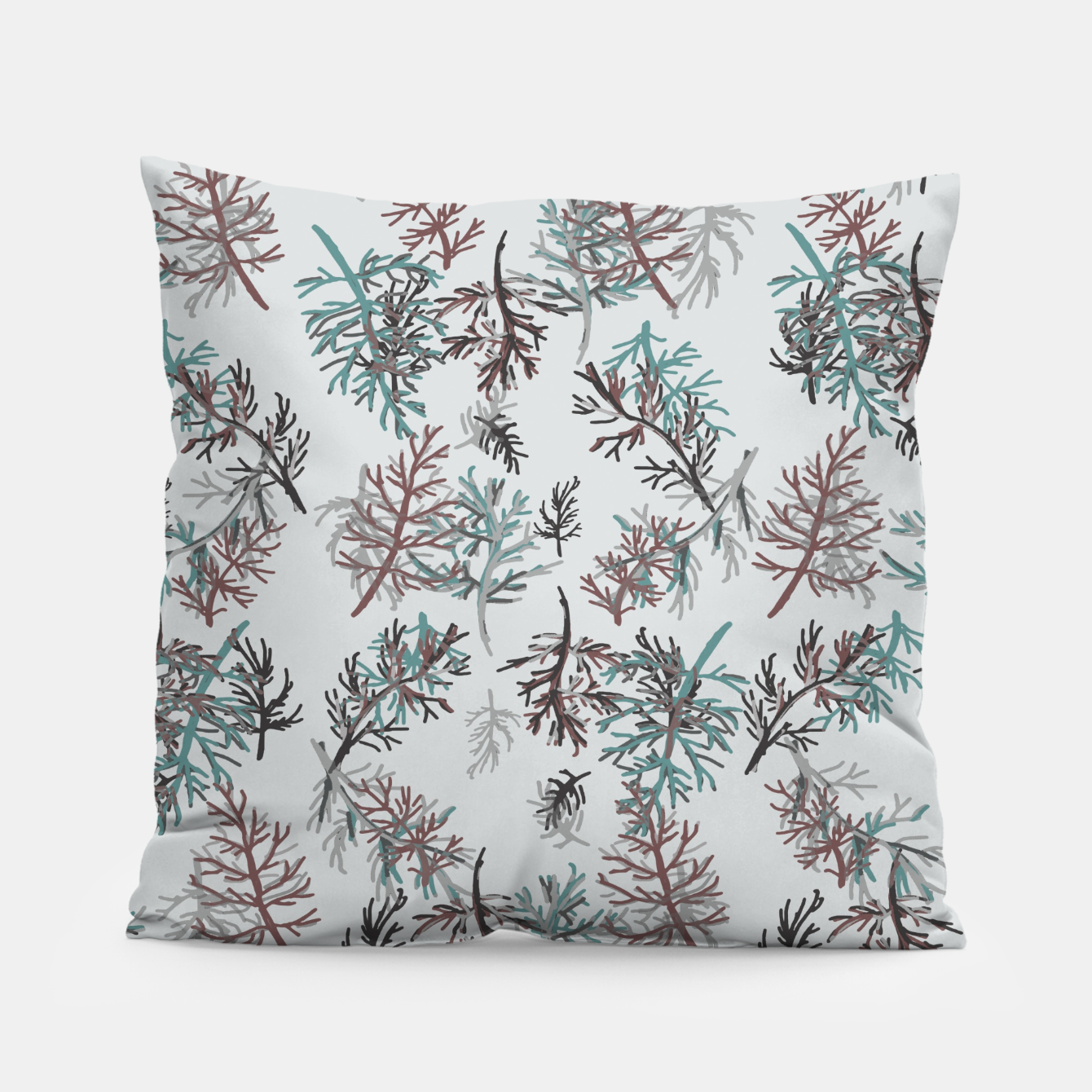 Image of Thuja Leaves Pillow - Live Heroes