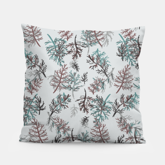 Thumbnail image of Thuja Leaves Pillow, Live Heroes