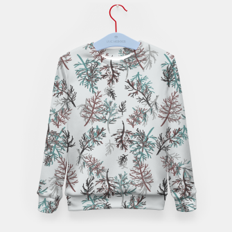 Thumbnail image of Thuja Leaves Kid's sweater, Live Heroes