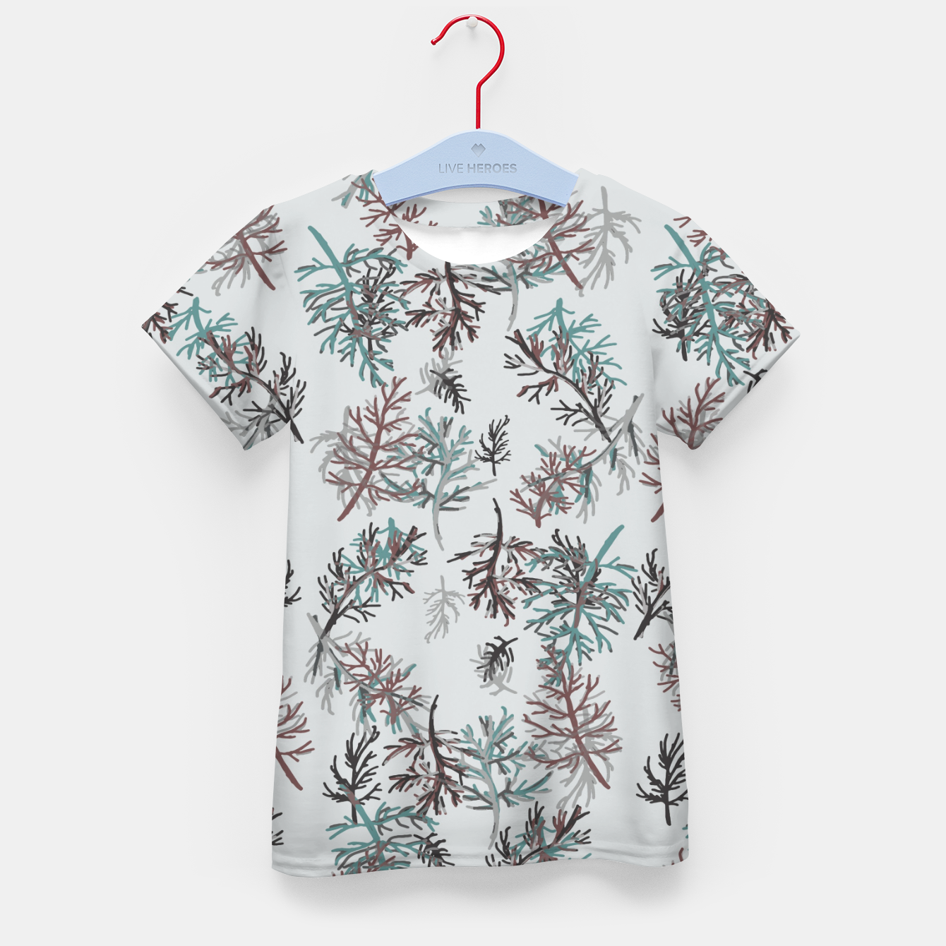 Image of Thuja Leaves Kid's t-shirt - Live Heroes