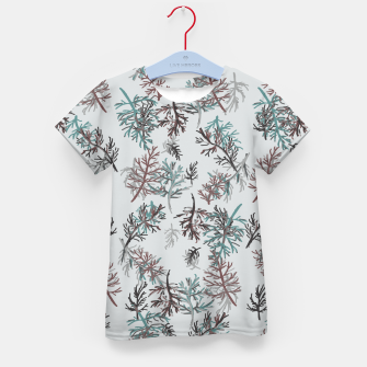 Thumbnail image of Thuja Leaves Kid's t-shirt, Live Heroes