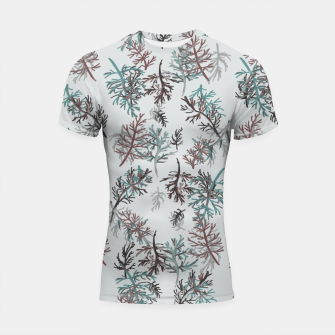 Thumbnail image of Thuja Leaves Shortsleeve rashguard, Live Heroes