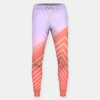 Thumbnail image of Linear geometric minimal Sweatpants, Live Heroes