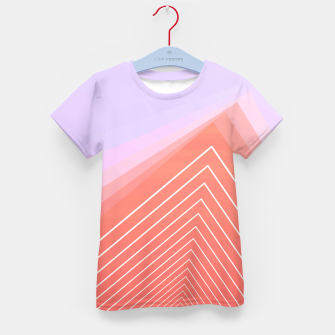 Thumbnail image of Linear geometric minimal Kid's t-shirt, Live Heroes