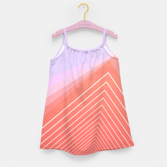 Thumbnail image of Linear geometric minimal Girl's dress, Live Heroes