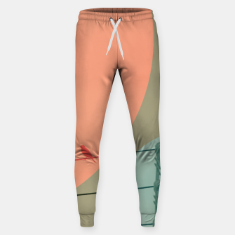 Thumbnail image of Bird on wire and shapes Sweatpants, Live Heroes