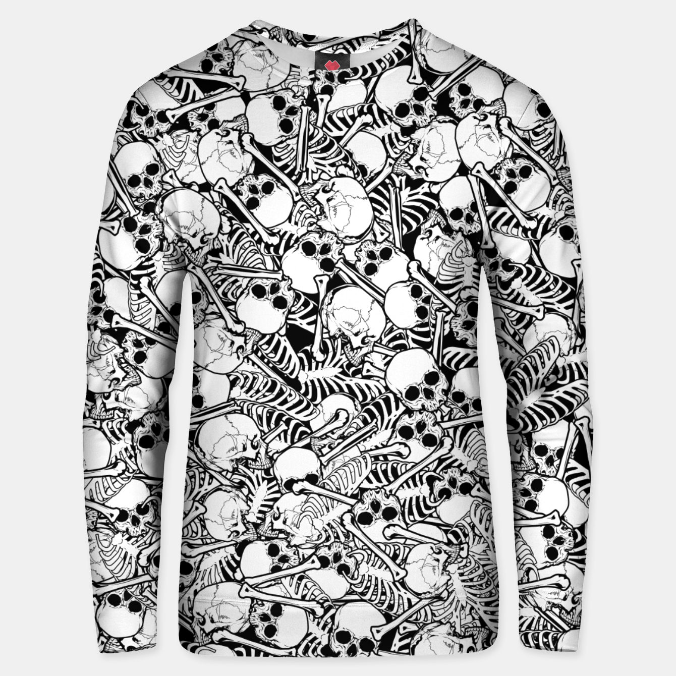 Image of Pile of Bones Unisex sweater - Live Heroes