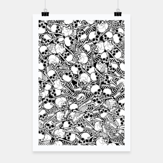 Thumbnail image of Pile of Bones Poster, Live Heroes