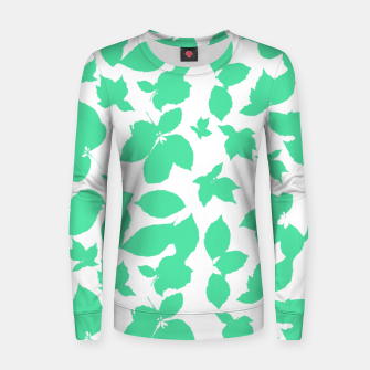 Botanical Motif Print Pattern Women sweater thumbnail image
