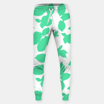 Botanical Motif Print Pattern Sweatpants thumbnail image