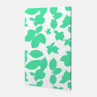 Botanical Motif Print Pattern Canvas thumbnail image
