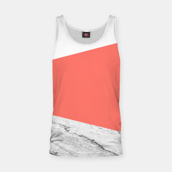 Marble Coral living Geometry Tank Top thumbnail image