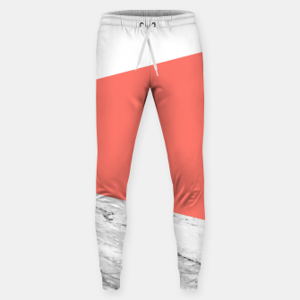 Marble Coral living Geometry Sweatpants thumbnail image