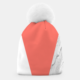 Marble Coral living Geometry Beanie thumbnail image