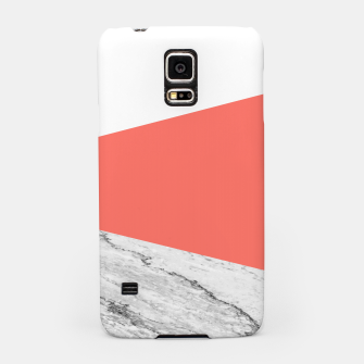 Marble Coral living Geometry Samsung Case thumbnail image