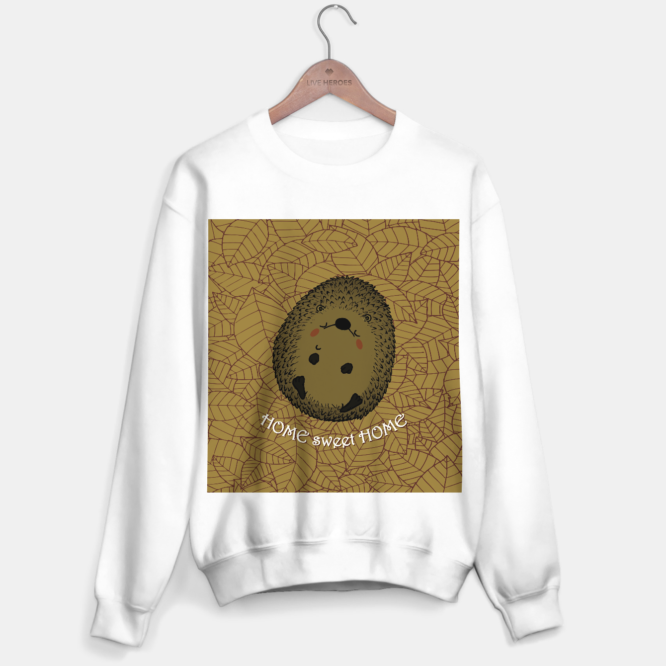 Image of HOME SWEET HOME Sweater regular - Live Heroes
