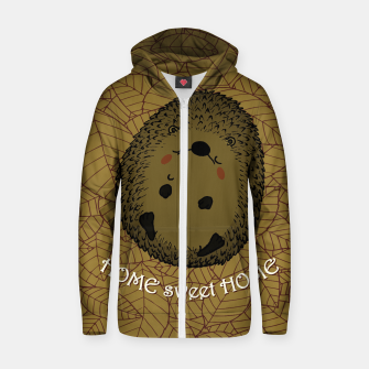 HOME SWEET HOME Zip up hoodie thumbnail image