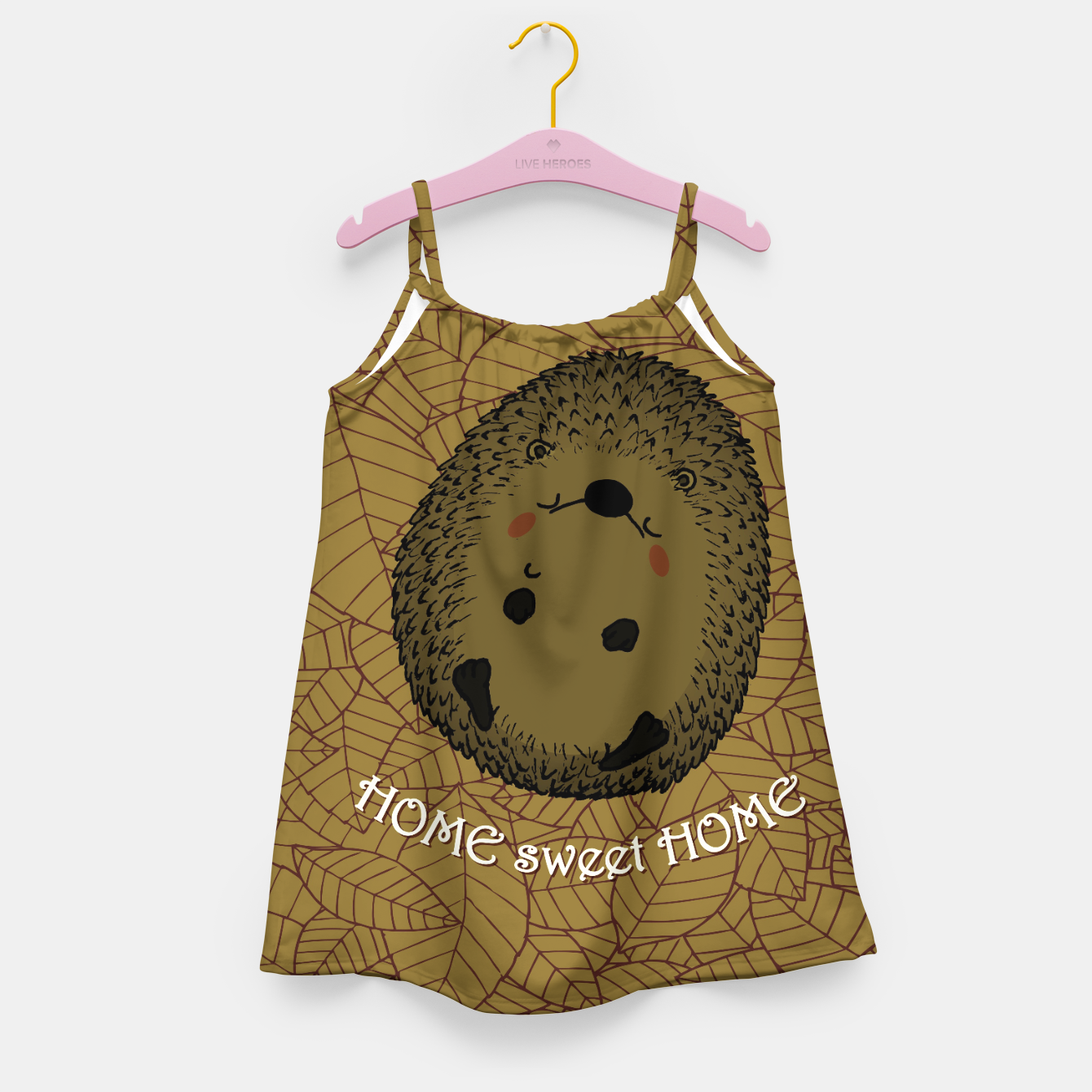Image of HOME SWEET HOME Girl's dress - Live Heroes