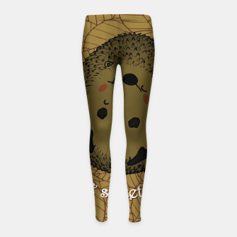 HOME SWEET HOME Girl's leggings thumbnail image