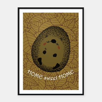 HOME SWEET HOME Framed poster thumbnail image