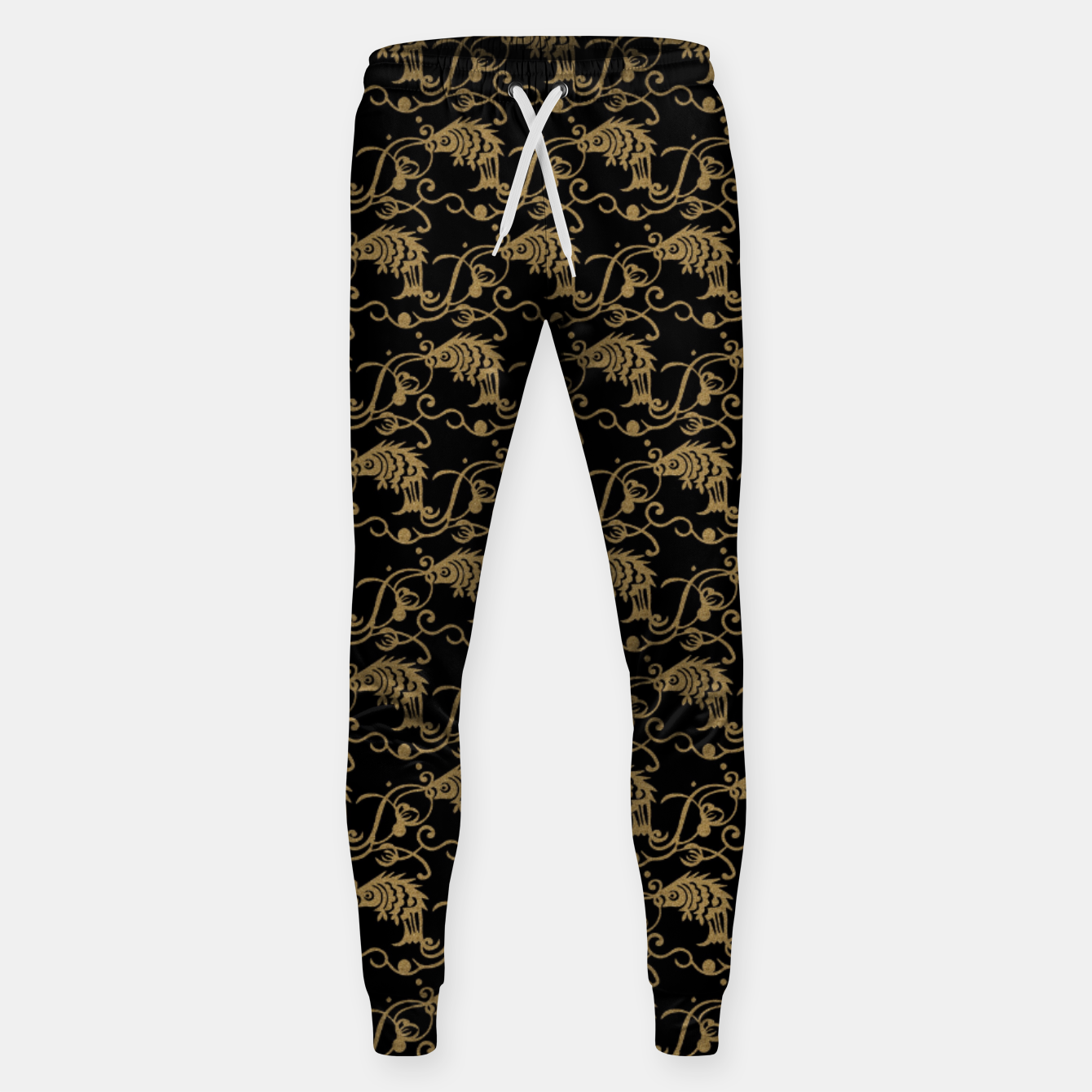 Image of  Chinese fish Sweatpants - Live Heroes