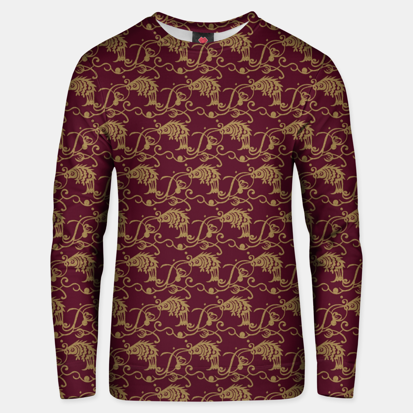 Image of Chinese fish Unisex sweater - Live Heroes