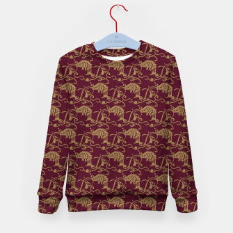 Chinese fish Kid's sweater thumbnail image