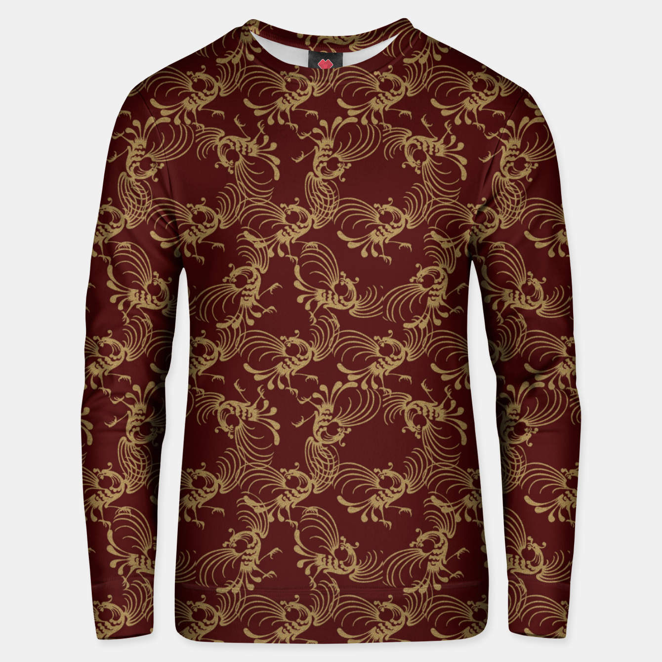 Image of Chinese phoenix Unisex sweater - Live Heroes