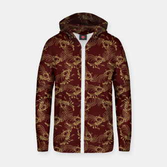 Chinese phoenix Zip up hoodie thumbnail image