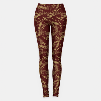 Chinese phoenix Leggings thumbnail image