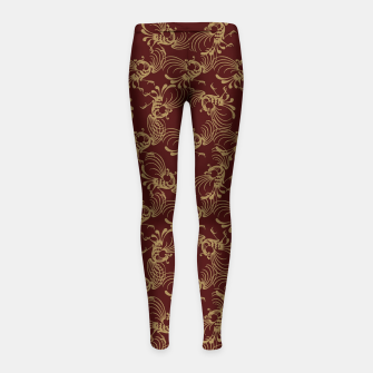 Chinese phoenix Girl's leggings thumbnail image