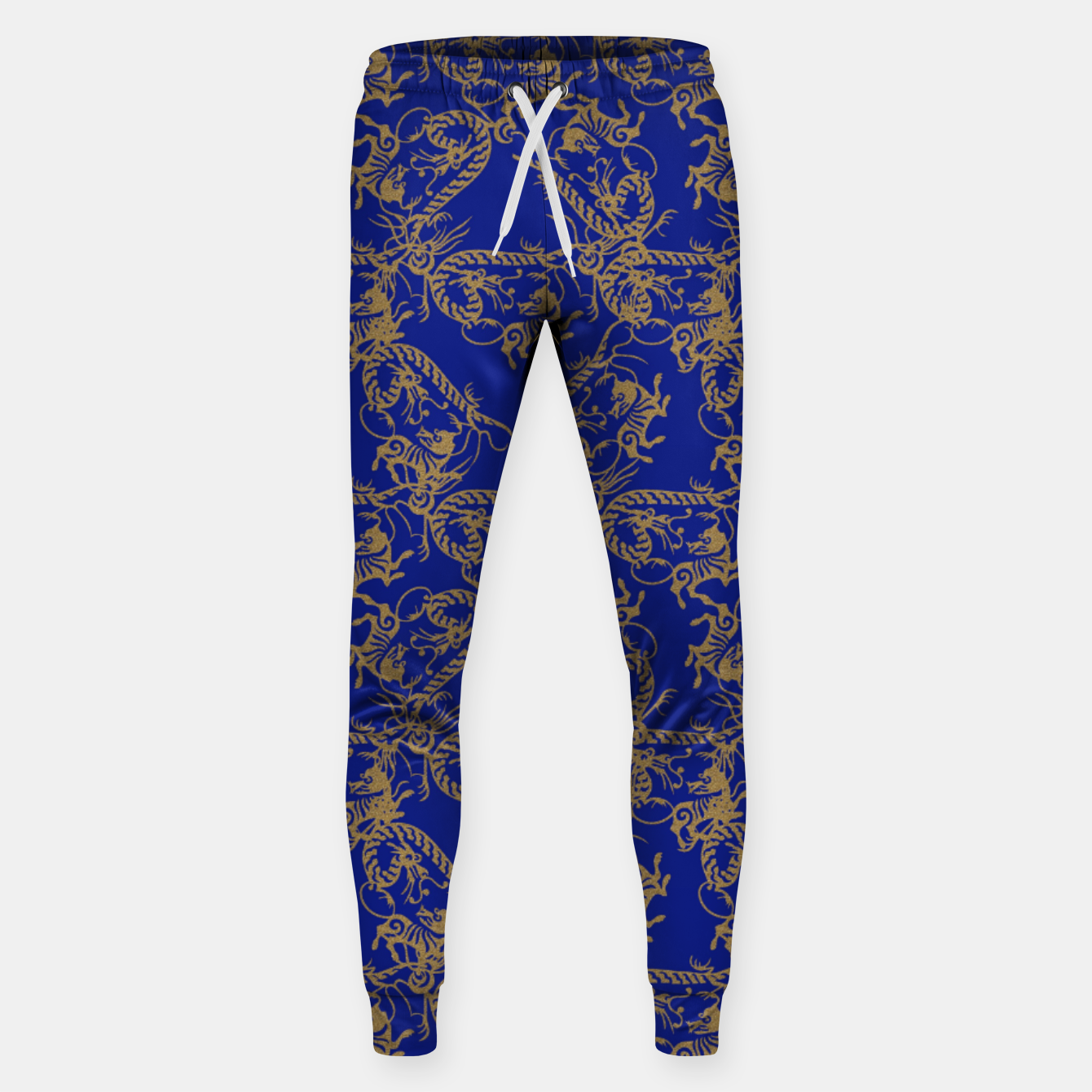 Image of  Chinese dragon and tiger Sweatpants - Live Heroes