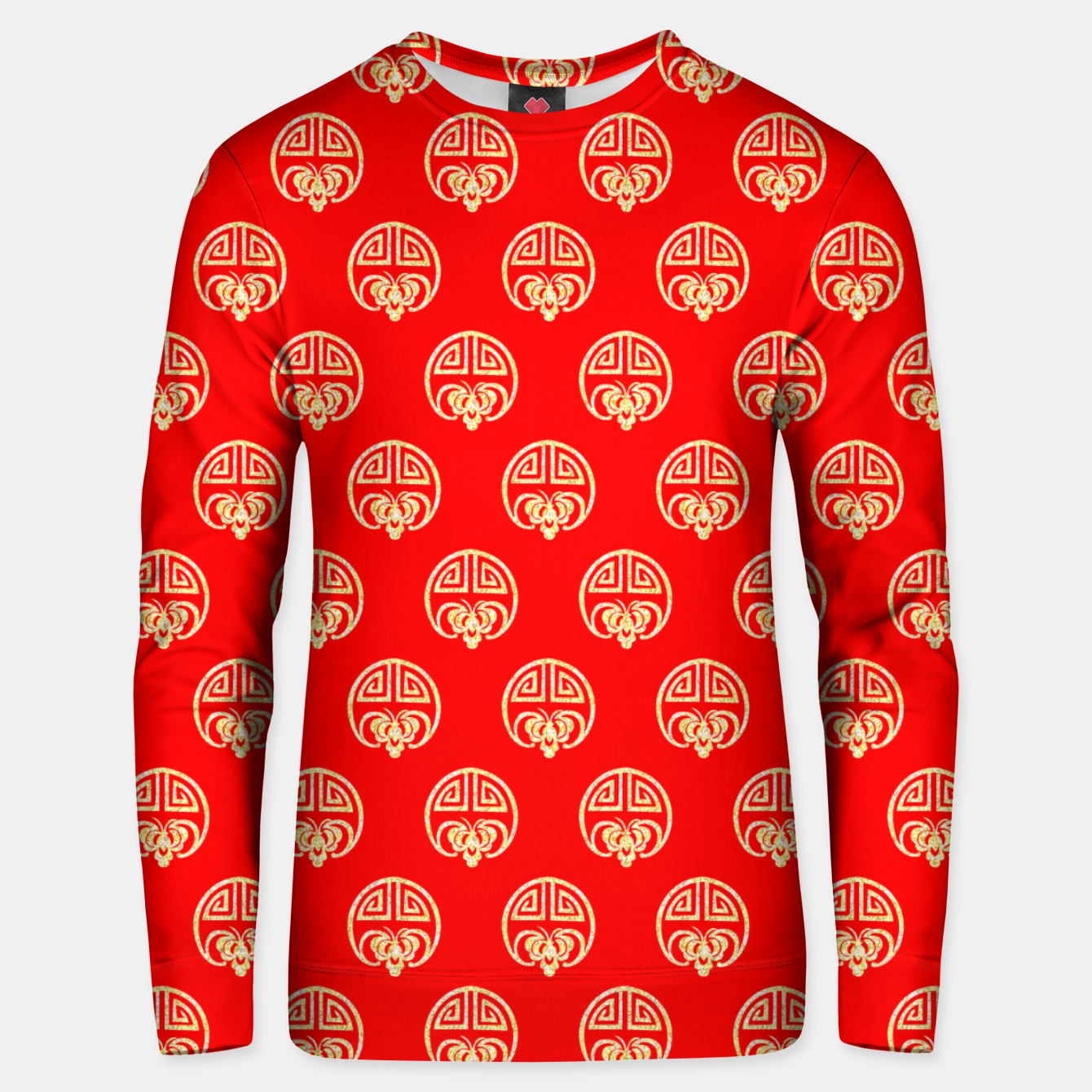 Image of  Chinese design Unisex sweater - Live Heroes